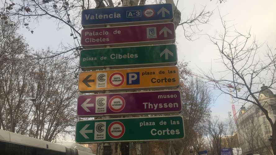 Las multas por acceder a Madrid Central empezarán este 16 de marzo