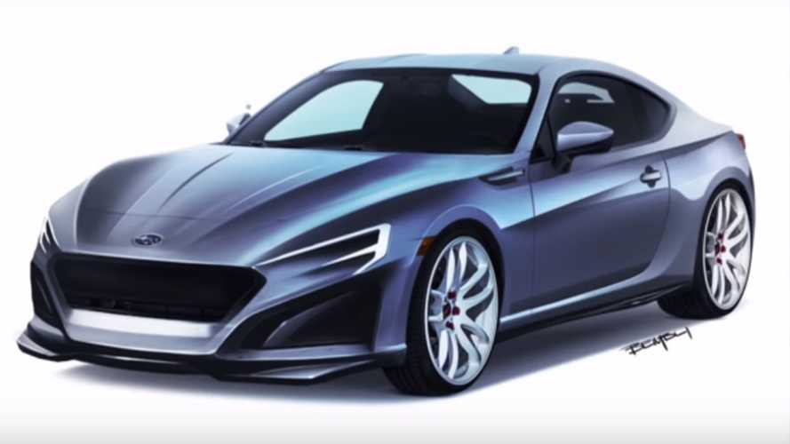 Subaru Fan Renders A Next-Gen BRZ On Video