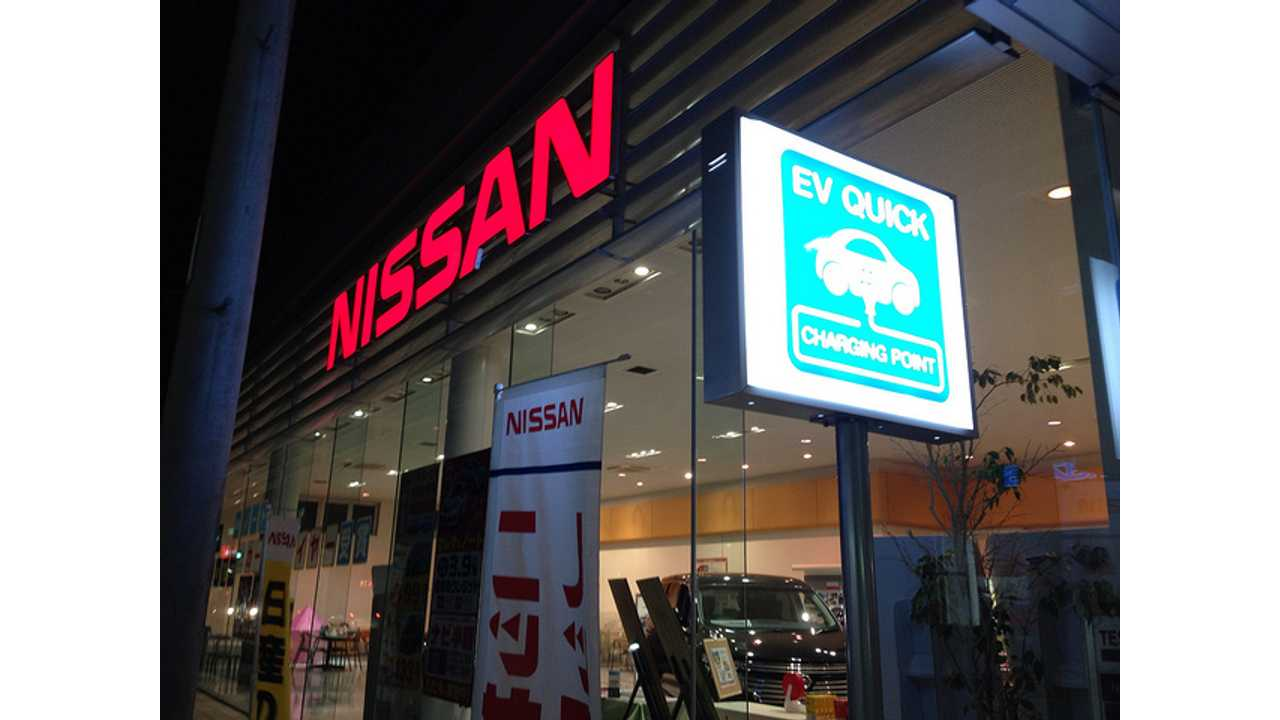 Toyota, Nissan, Honda and Mitsubishi to Provide Financial Assistance for Electric Vehicle Charging Infrastructure in Japan