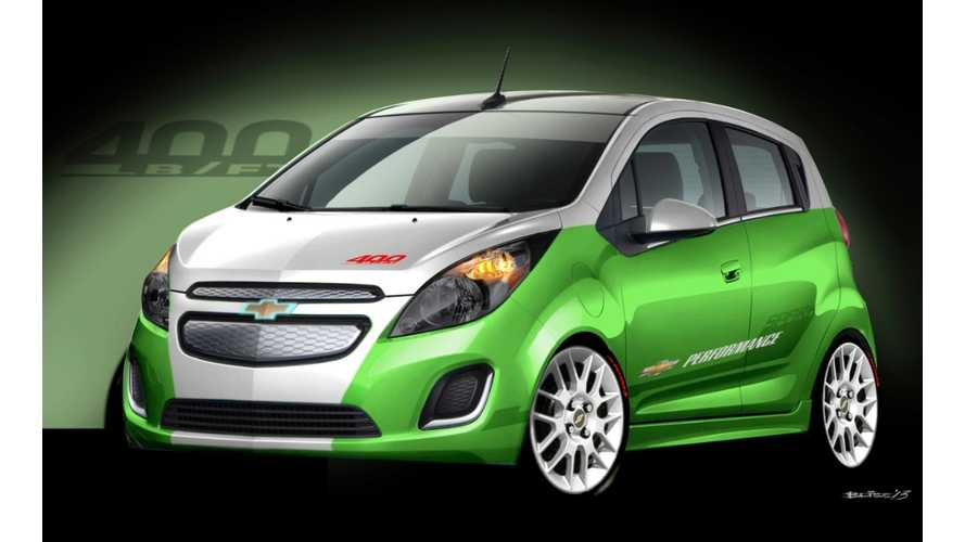 Chevy Spark EV Tech Performance Concept to Debut at SEMA