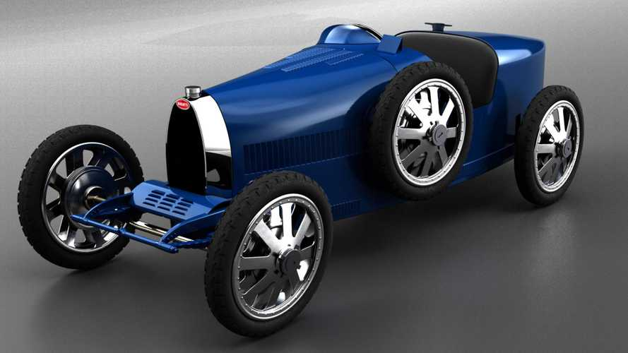 Electric baby Bugatti costs only £25,800