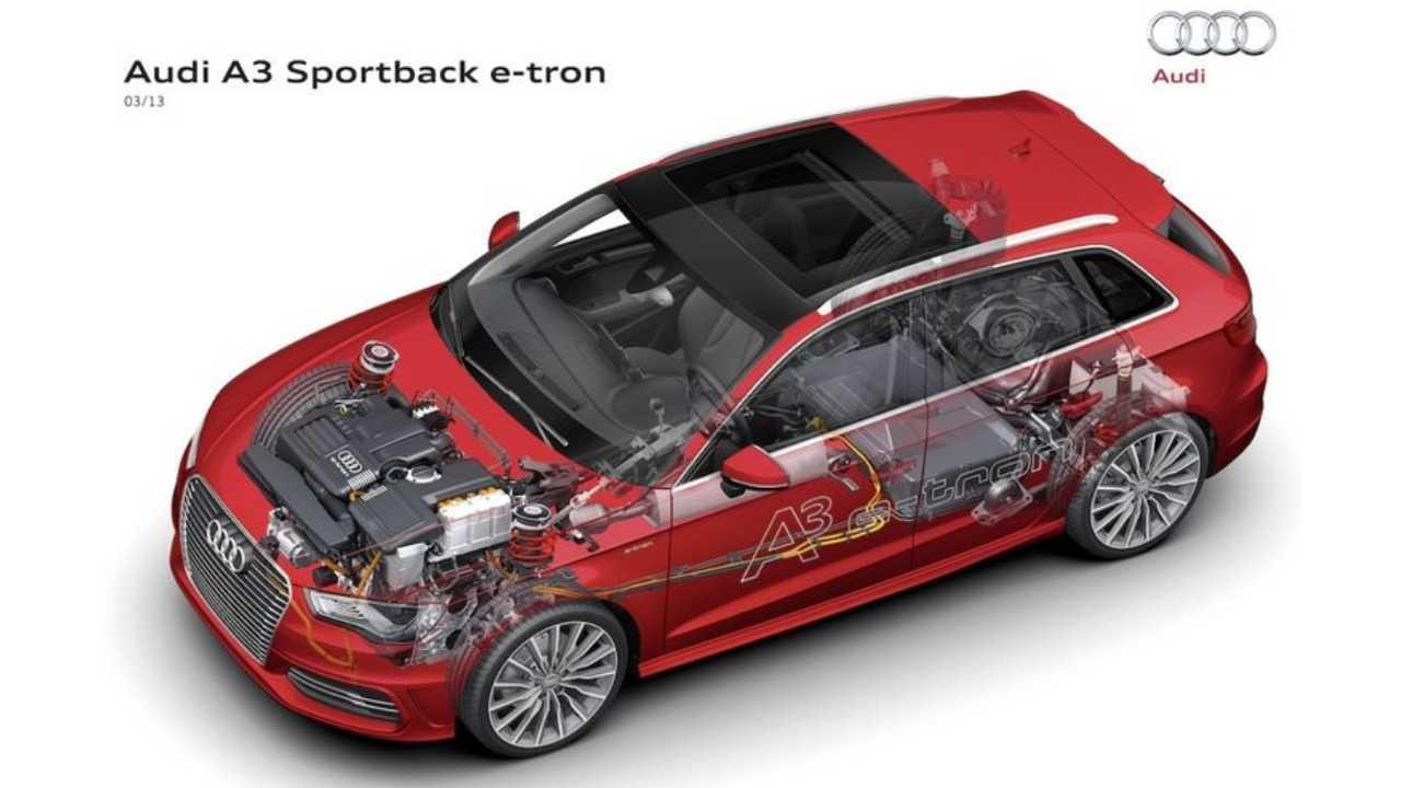 Audi A3 Sportback e-tron Cutaway