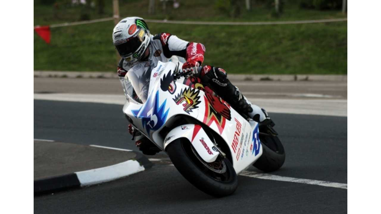 John McGuinness Fastest in Qualifying for SES TT Zero on Isle of Man; 109.04 mph Average Speed