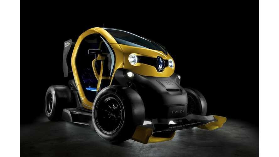 Twizy Renault Sport F1 to Make Auto Show Debut in Barcelona on May 9