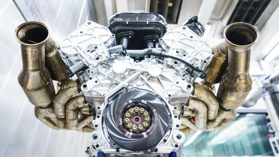 Aston Martin Valkyrie's glorious Cosworth V12 engine revealed