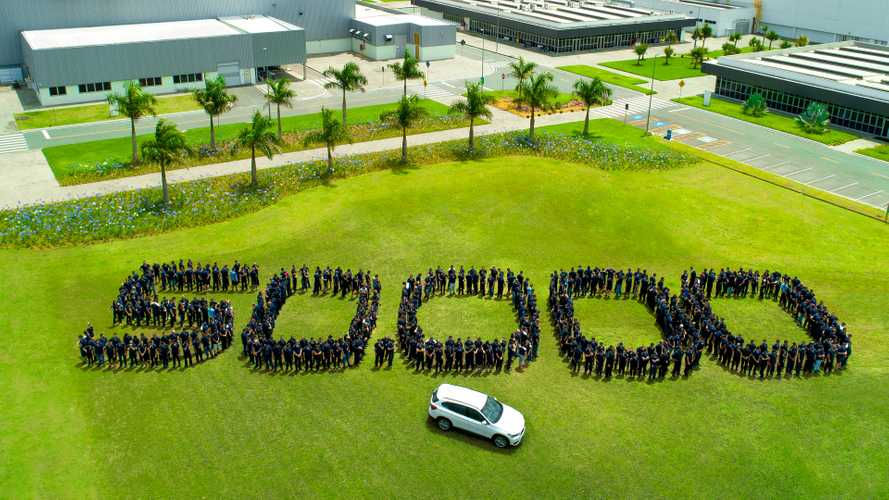 BMW comemora produção de 50 mil veículos no Brasil