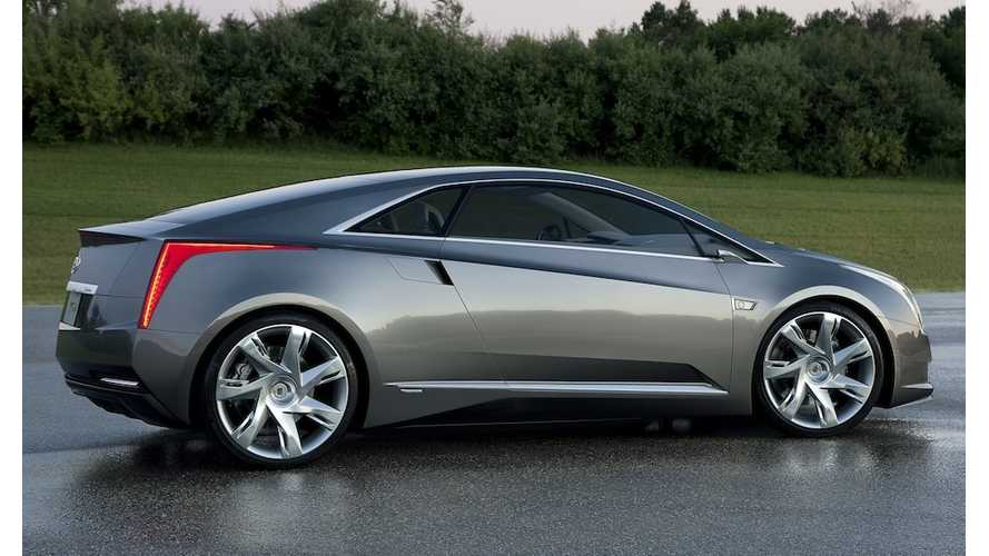 Cadillac ELR Production Scheduled To Begin Late 2013