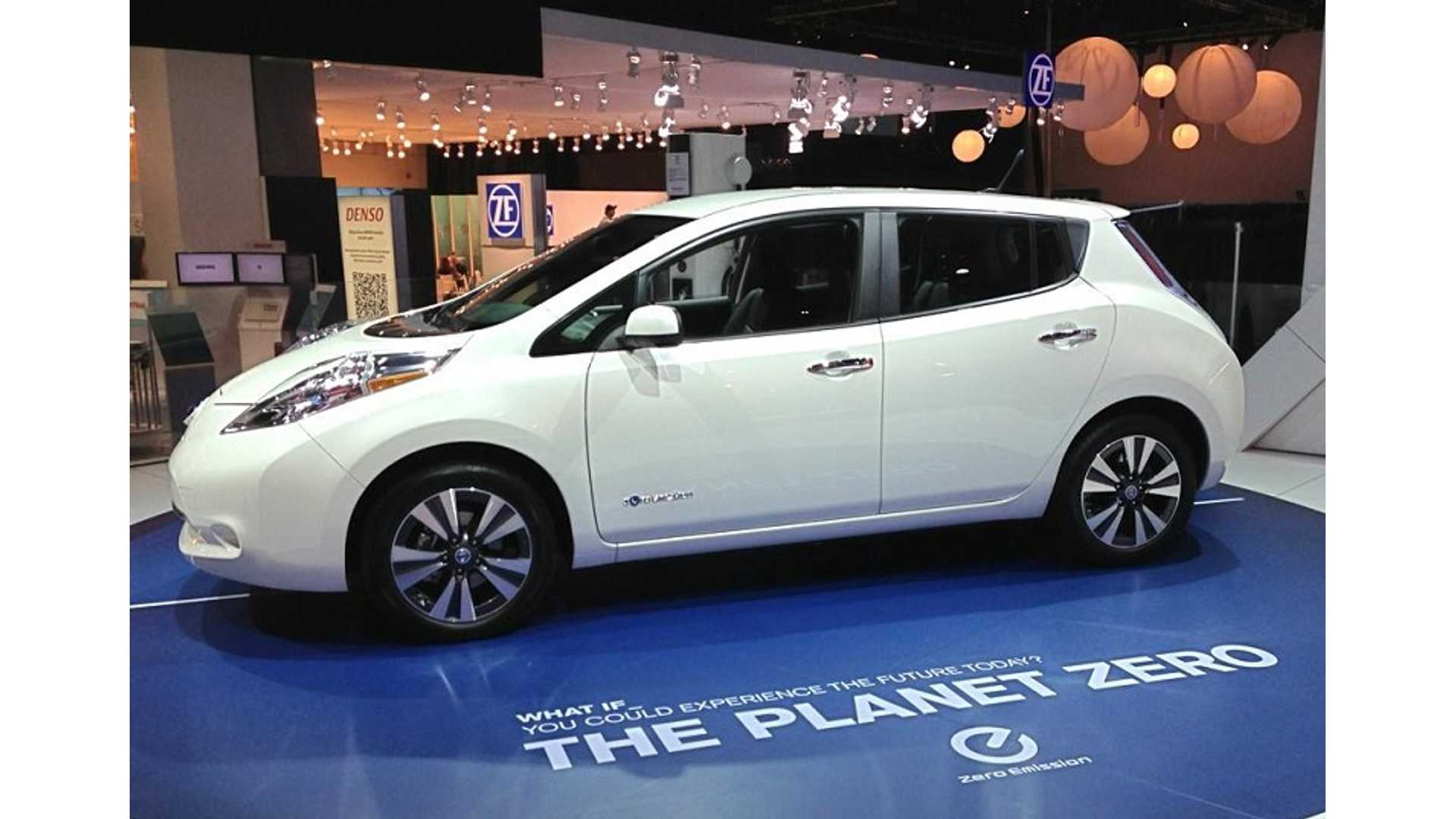 Nissan Prices New Leaf S Model At 28 800 Puts Plug In Compeion On Notice