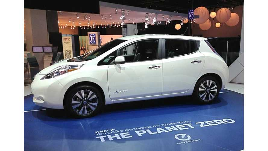 Nissan Prices New LEAF S Model At $28,800, Puts Plug-In Competition on Notice