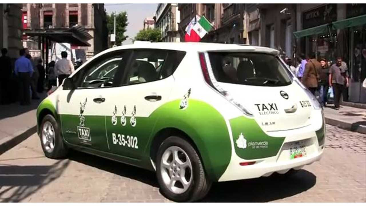 Update on 70 Nissan LEAF Taxis in Mexico (Video)