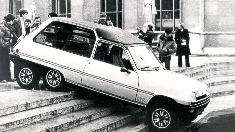 Renault 5 6x6