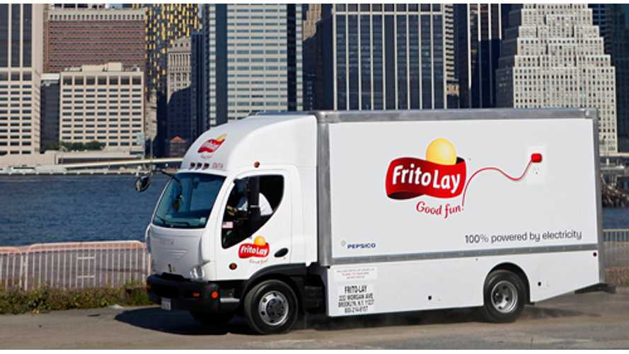 Frito-Lay Drives a Million Electric Miles, Plans to Buy 100 More Trucks