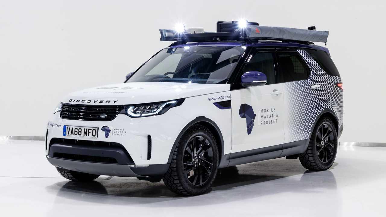 Land Rover Discovery: 'one-off' para luchar contra malaria