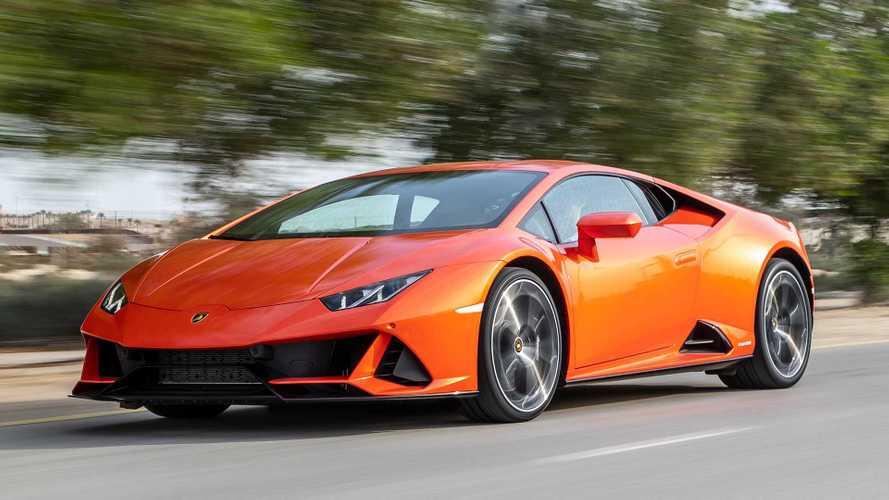 Lamborghini Huracan Evo, a più di 300 km/h con Alexa