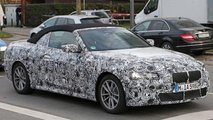 BMW 4 Series Convertible Spy Shots