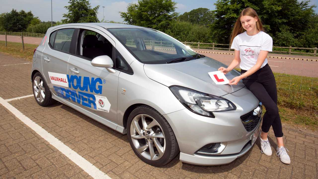 Vauxhall Corsa Young Driver programme