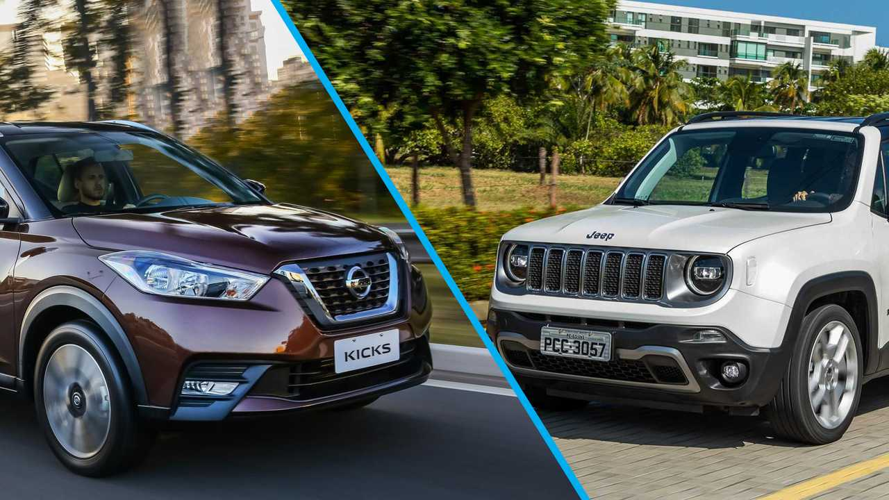 Jeep Renegade e Nissan Kicks