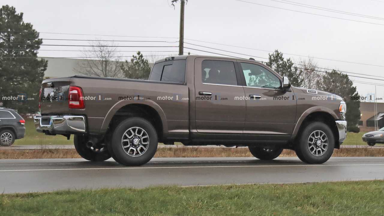 2020 Ram HD 2500 spy photo | Motor1.com Photos