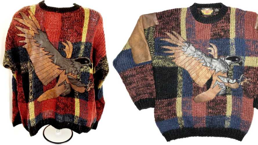 Ugly motorcycle sweaters - 13 pictures