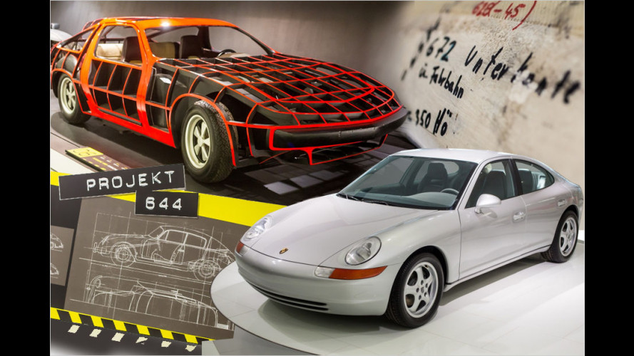 Porsche-Museum zeigt historische Prototypen