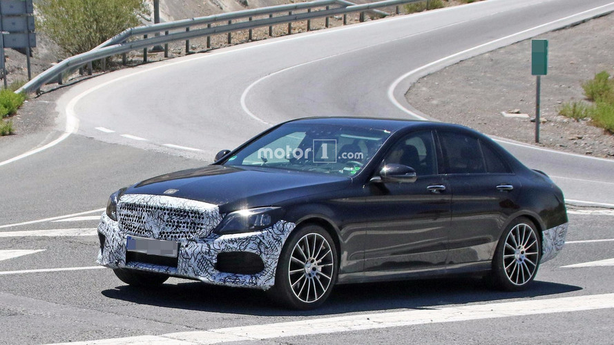 Refreshed Mercedes-Benz C-Class Spied Revealing Its New Cabin