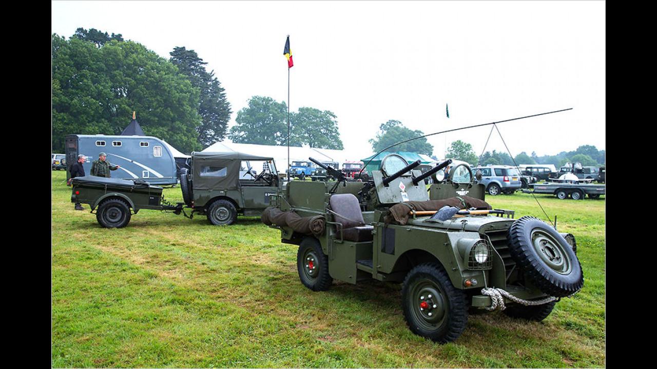Land Rover für Belgien