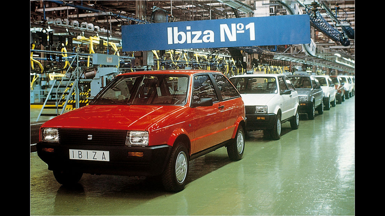 1984: Seat Ibiza