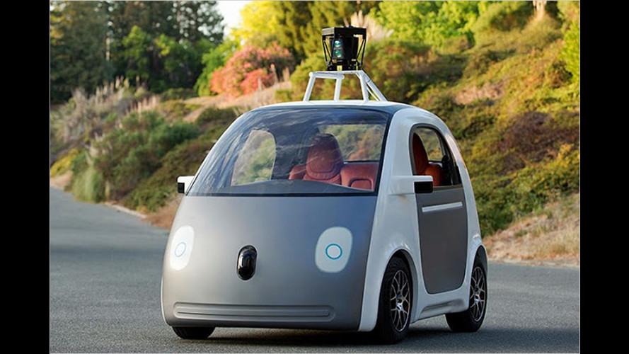 Google baut selbstfahrendes Auto