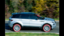 Rote Reifen aus Italien