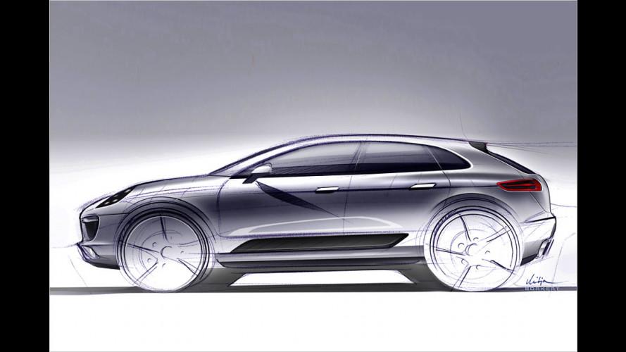 Der kleine Gelände-Porsche heißt Macan