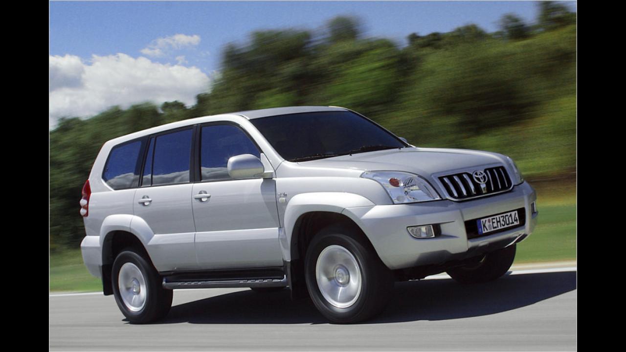 Platz 6: Toyota Land Cruiser 3.0 D