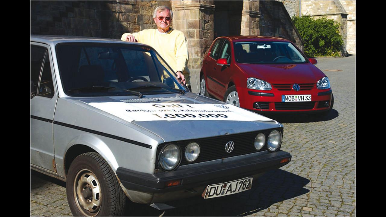 Eine Million Kilometer im VW Golf I