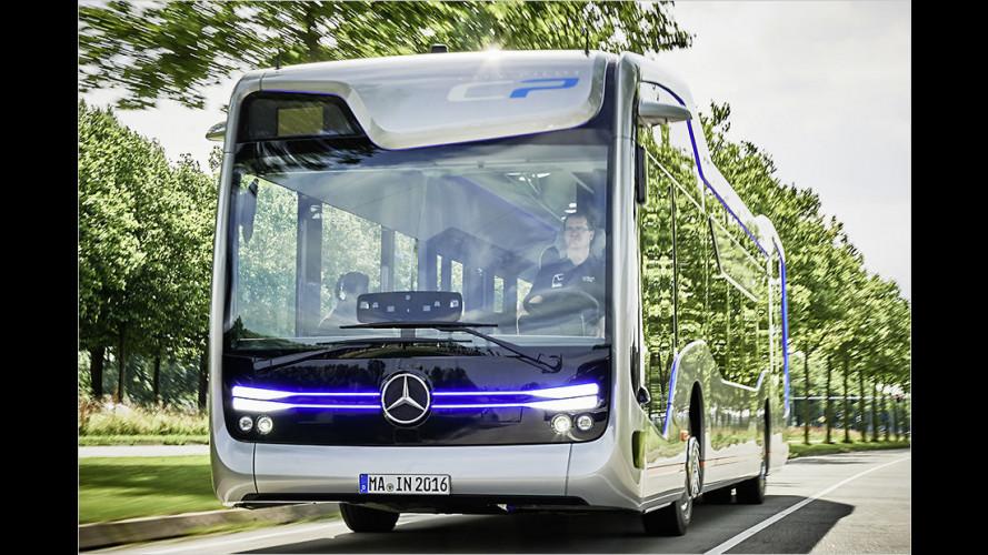 Mercedes Future Bus: Auf Linie gebracht