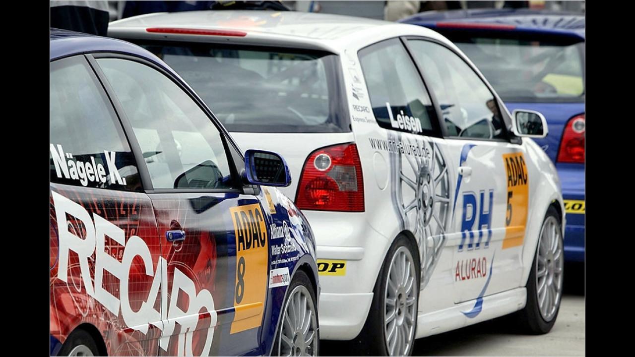Die Tourenwagenschule Teil 4: VW Polo Cup