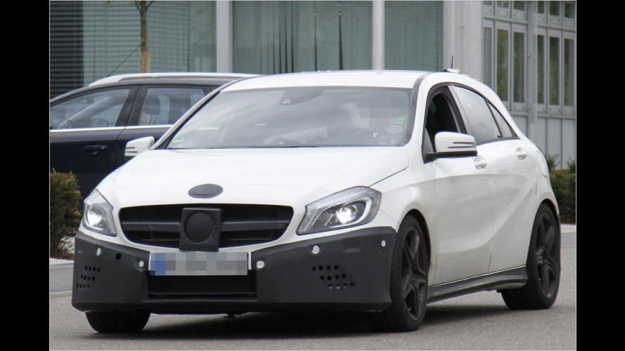 Erwischt: Mercedes A 25 AMG