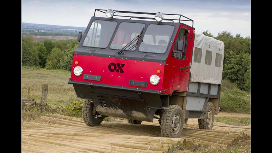 Der GVT OX ist der weltweit erste