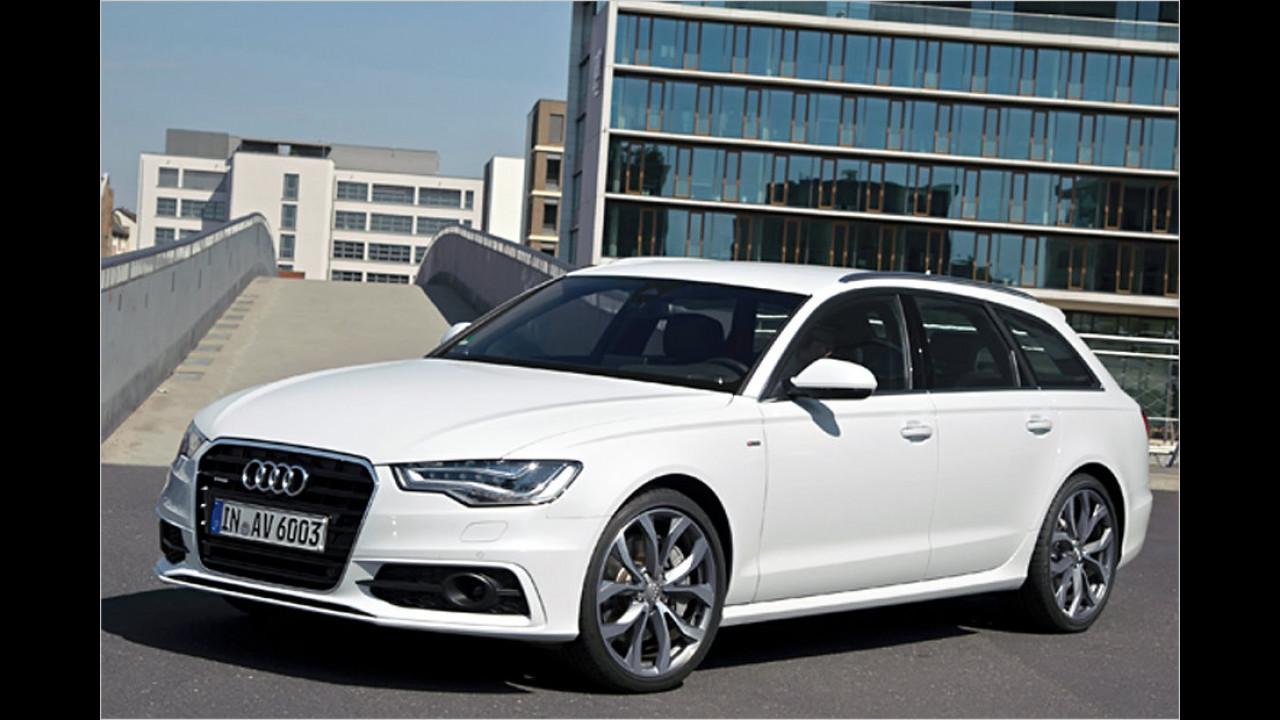 Obere Mittelklasse/Oberklasse, 100.001 bis 150.000 Kilometer: Audi A6 (2011)