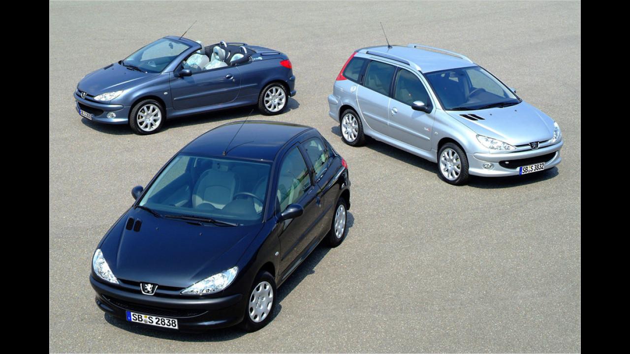 Peugeot 206: 7 Millionen (1998 bis 2012)