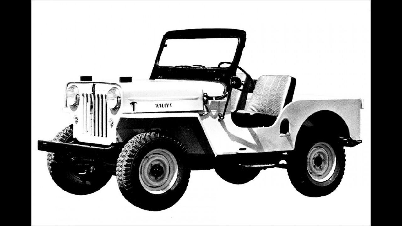 Jeep CJ-3B: 1953-1968