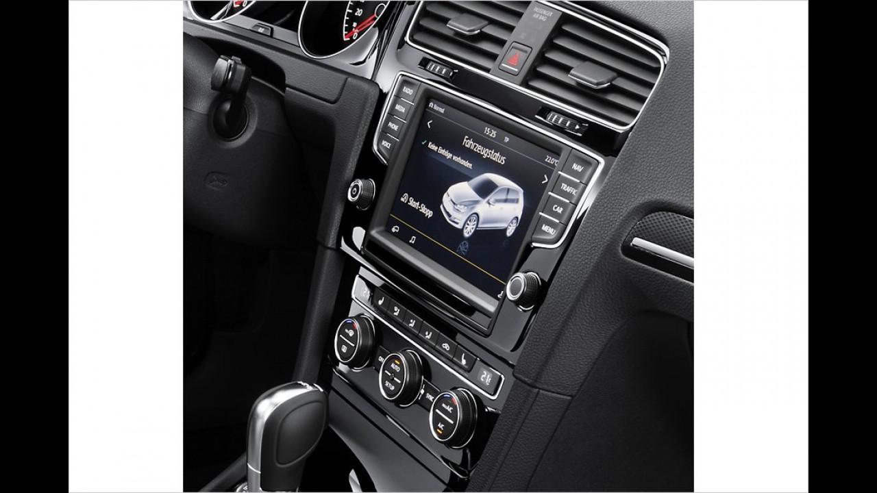 Verfügbare Technik: VW Golf