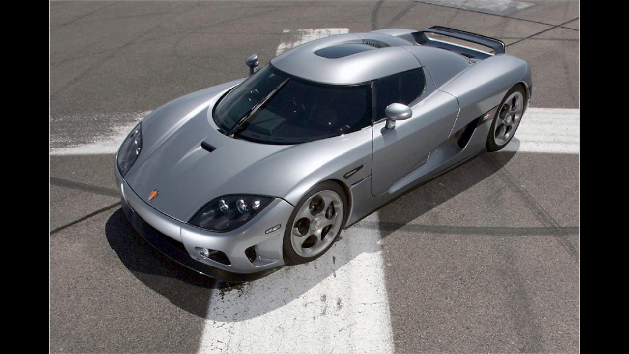 Koenigsegg CCX: 7:34 Minuten (schnellster Schwede)