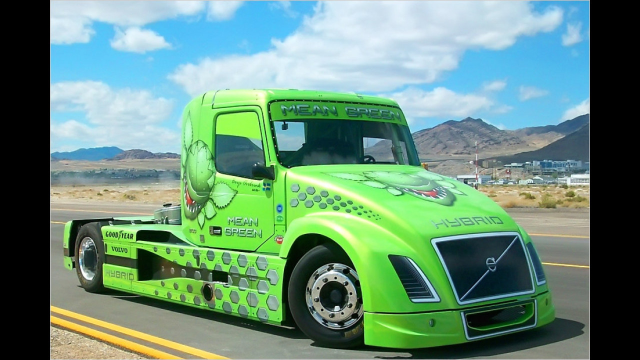 Schnellster Hybrid-Lastwagen der Welt
