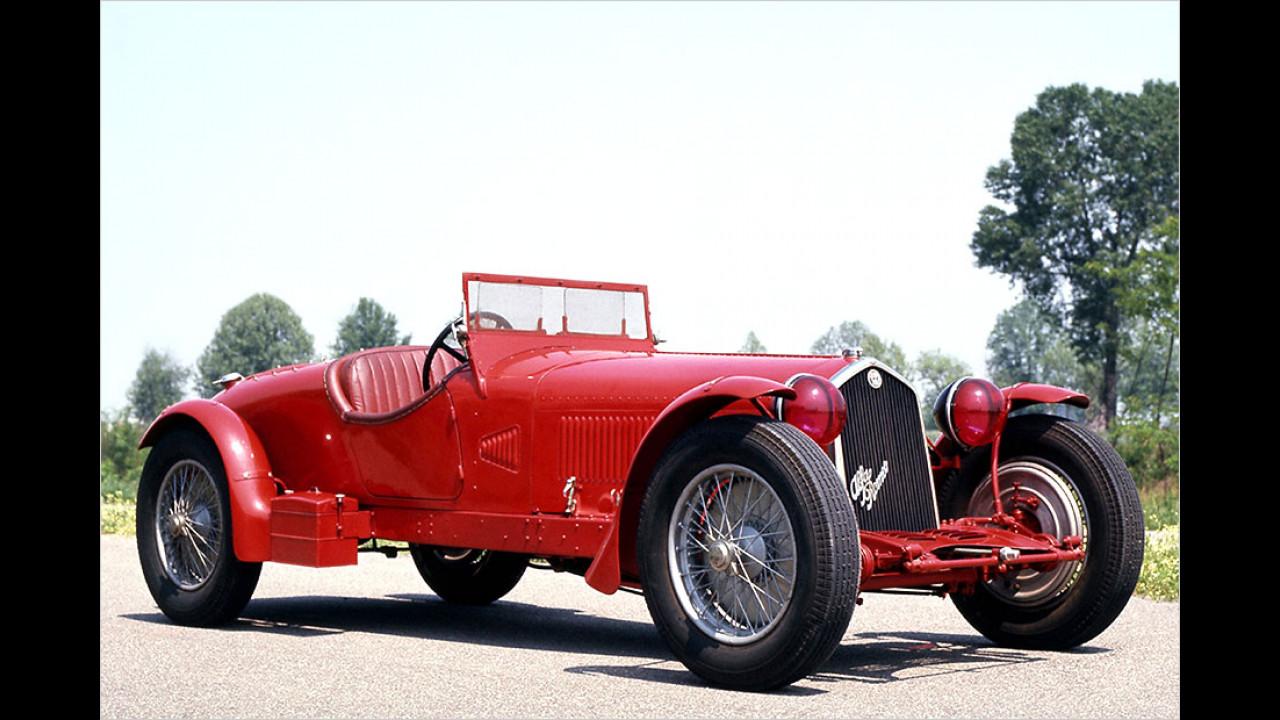 1931 bis 1934: Alfa Romeo 8C 2300 LM