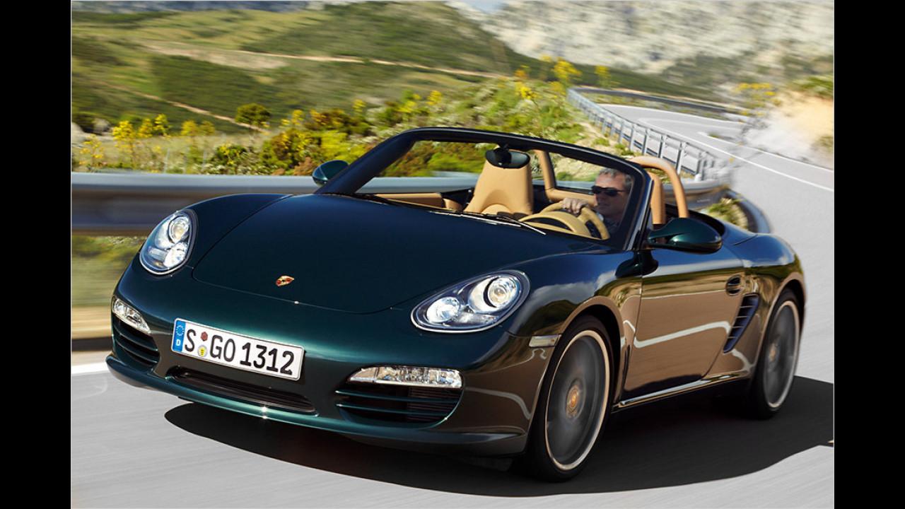 Platz 9: Porsche Boxster