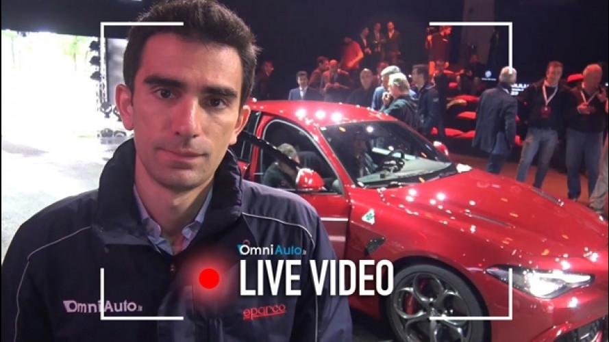 Alfa Romeo Giulia, finalmente si guida