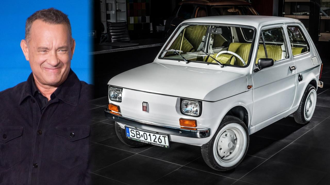 [Copertina] - Fiat 126, Tom Hanks avrà la sua