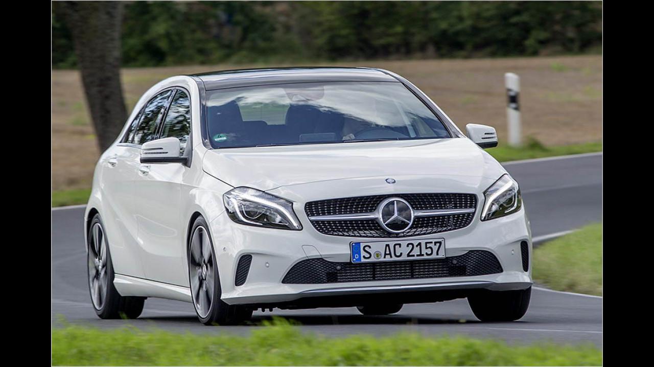 Der beste Kompaktwagen: Mercedes A-Klasse