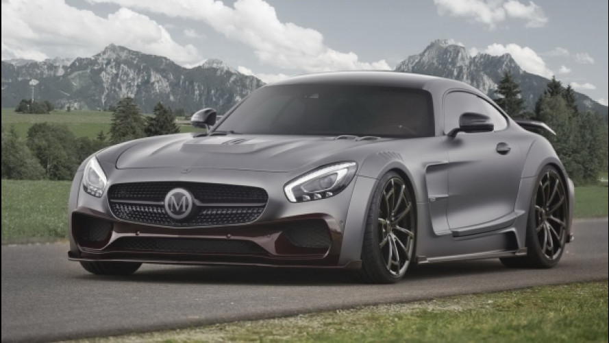 Mercedes AMG GT S by Mansory, per 220 CV in più