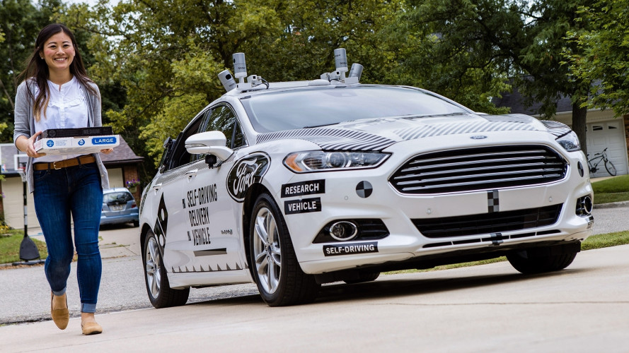 Ford e Domino's, pizza a domicilio con la guida autonoma