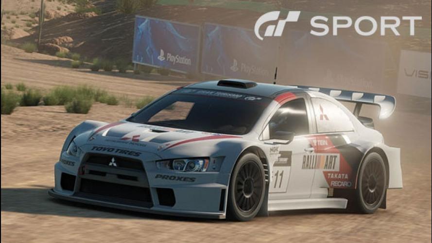 Gran Turismo Sport, la partita si gioca online [VIDEO]